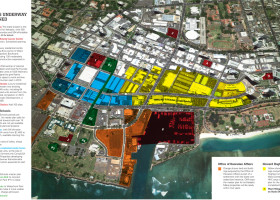 Proposed Kaka'ako New Construction – Map