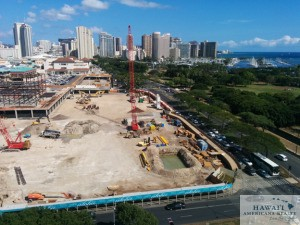 Park Lane Ala Moana construction site 09/28/2014