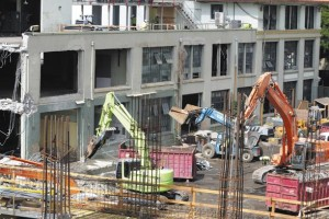 The 801 South Street project on the site of the former Honolulu Advertiser Building is currently under construction.