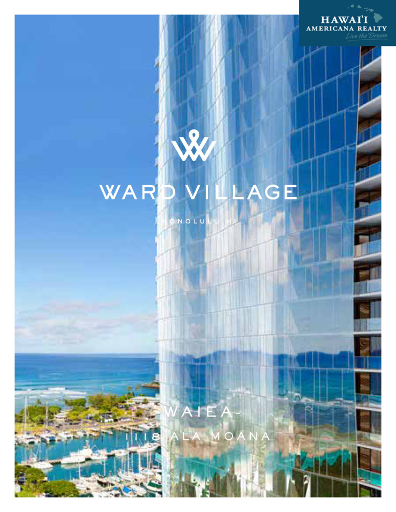 WAIEA - Click here for residence details and floor plans