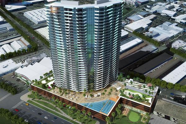 The planned Vida at 888 Ala Moana luxury condominium tower being developed by the Kobayashi Group and The MacNaughton Group received neighborhood board approval Tuesday night.