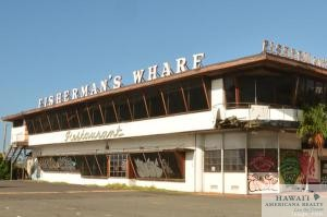 The Office of Hawaiian Affairs is planning to demolish the Fisherman's Wharf building in Honolulu, which is become an eyesore since the restaurant closed.