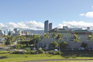 The area where a new economic accelerator is being planed in Kakaako Makai near the UH