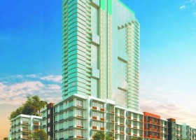 This rendering shows the Keauhou Lane condominium project in Honolulu being developed