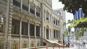 Hawaii's Iolani Palace, the only royal palace in the United States