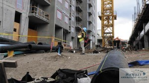 The 801 South St. project in Kakaako is one of the workforce housing projects in the area.